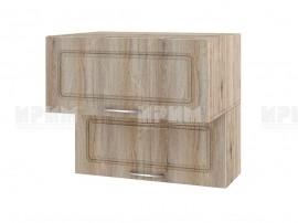 Горен шкаф за кухня Сити АРФ-Сонома-02-107 МДФ - 80 см.