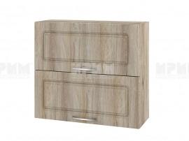 Горен шкаф за кухня Сити АРФ-Сонома-02-12 МДФ - 80 см.