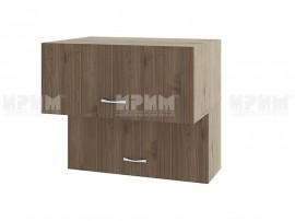 Горен кухненски шкаф Сити АРО-107 с хоризонтални врати - 80 см.
