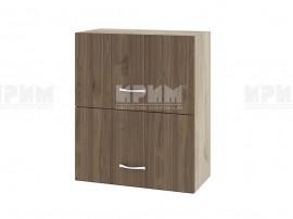Горен кухненски шкаф Сити АРО-11 с хоризонтални врати - 60 см.