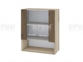 Горен кухненски шкаф с витрини Сити АРО-9 - 60 см.