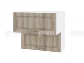 Горен шкаф за кухня Сити БФ-Сонома-02-107 МДФ - 80 см.