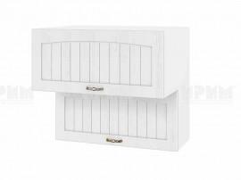 Горен шкаф за кухня Сити БФ-Бяло фладер-04-107 МДФ - 80 см.