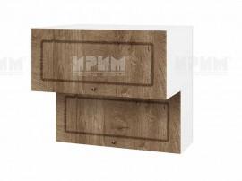 Горен шкаф за кухня Сити БФ-Дъб натурал-06-107 МДФ - 80 см.