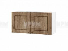 Горен шкаф за кухня Сити БФ-Дъб натурал-06-108 МДФ - 80 см.