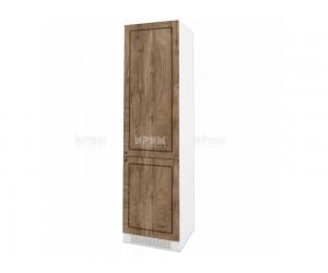 Колонен кухненски шкаф Сити БФ-Дъб натурал-06-50 МДФ за хладилник - 60 см.