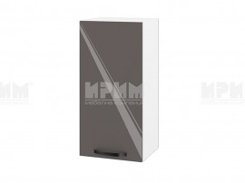 Горен шкаф за кухня Сити БФ-Антрацит гланц-05-16 МДФ - 35 см.