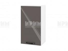 Горен шкаф за кухня Сити БФ-Антрацит гланц-05-2 МДФ - 40 см.