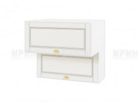 Горен шкаф за кухня Сити БФ-Бяло мат-09-107 МДФ - 80 см.