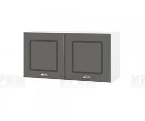 Горен шкаф за кухня Сити БФ-Цимент мат-06-108 МДФ - 80 см.