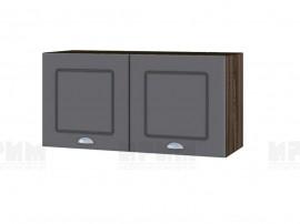 Горен шкаф за кухня Сити ВФ-Цимент мат-06-108 МДФ - 80 см.