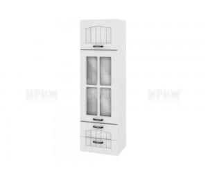 Горен кухненски шкаф Сити БФ-Бяло фладер-04-101 МДФ - 40 см.
