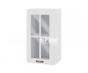 Горен шкаф за кухня Сити БФ-Бяло фладер-04-102 МДФ - 40 см.