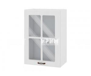 Горен шкаф за кухня Сити БФ-Бяло фладер-04-118 МДФ - 50 см.