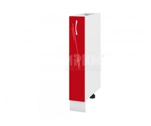 Долен кухненски шкаф-бутилиера Сити БЧ - 41 - 15 см.