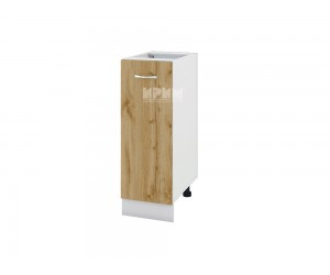 Долен шкаф Сити БДД-120 с врата и рафт