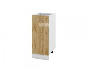 Долен шкаф Сити БДД-140 с врата и рафт
