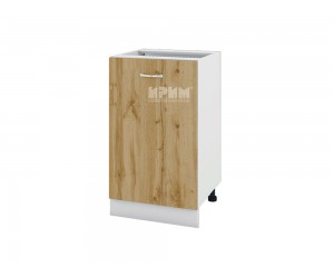 Долен шкаф Сити БДД-143 с врата и рафт