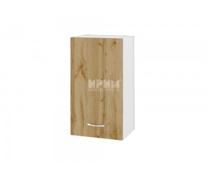 Горен шкаф Сити БДД-2 с врата и рафт