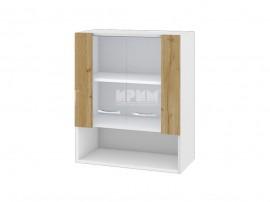 Горен кухненски шкаф с витрини Сити БДД-9 - 60 см.