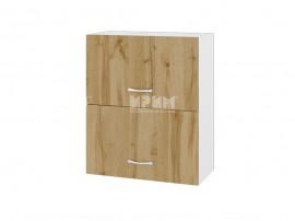 Горен кухненски шкаф Сити БДД-11 с хоризонтални врати - 60 см.