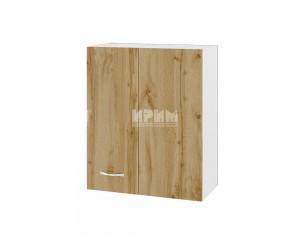 Горен шкаф Сити БДД-117 с врата за ъгъл