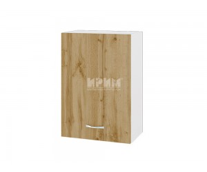 Горен шкаф Сити БДД-118 с врата и рафт
