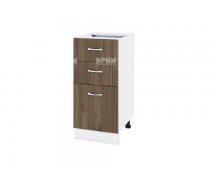 Шкаф Сити БО-127 с две чекмеджета и врата
