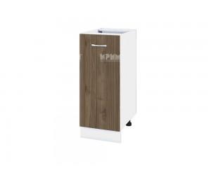 Долен кухненски шкаф Сити БО - 40 с врата и рафт - 35 см.
