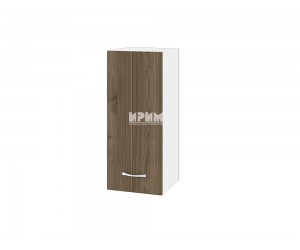 Горен шкаф Сити БО-101 с врата и рафт