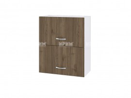 Горен кухненски шкаф Сити БО-11 с хоризонтални врати - 60 см.