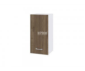Горен шкаф Сити БО-116 с врата и рафт