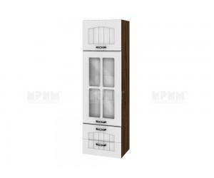 Горен кухненски шкаф Сити ВФ-Бяло фладер-04-101 МДФ - 40 см.