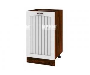 Долен шкаф за кухня Сити ВФ-Бяло фладер-04-93 ляв МДФ - 50 см.