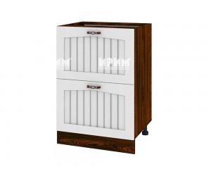 Долен шкаф за кухня Сити ВФ-Бяло фладер-04-44 МДФ - 60 см.