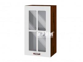Горен шкаф за кухня Сити ВФ-Бяло фладер-04-102 МДФ - 40 см.
