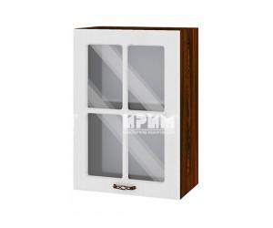 Горен шкаф за кухня Сити ВФ-Бяло фладер-04-118 МДФ - 50 см.