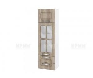 Горен кухненски шкаф Сити БФ-Сонома-02-101 МДФ - 40 см.