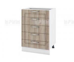 Долен шкаф за кухня Сити БФ-Сонома-02-29 МДФ - 60 см.