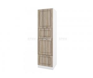 Колонен кухненски шкаф Сити БФ-Сонома-02-48 МДФ - 60 см.