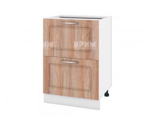 Долен шкаф за кухня Сити БФ-Сонома-02-44 МДФ - 60 см.