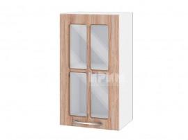 Горен шкаф за кухня Сити БФ-Сонома-02-102 МДФ - 40 см.