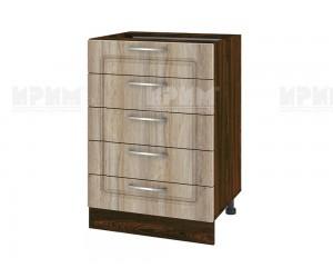 Долен шкаф за кухня Сити ВФ-Сонома-02-29 МДФ - 60 см.