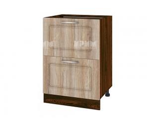 Долен шкаф за кухня Сити ВФ-Сонома-02-44 МДФ - 60 см.