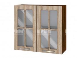 Горен шкаф за кухня Сити ВФ-Сонома-02-104 МДФ - 80 см.
