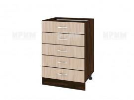 Долен кухненски шкаф Сити ВА - 29 с чекмеджета - 60 см.