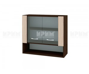 Горен кухненски шкаф Сити ВА-10 с витринни - 80 см.