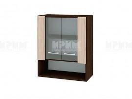 Горен кухненски шкаф с витринни Сити ВА-9 - 60 см.