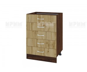 Долен кухненски шкаф с чекмеджета Сити ВДД - 29 - 60 см.