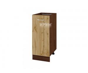 Долен шкаф Сити ВДД-40 с врата и рафт